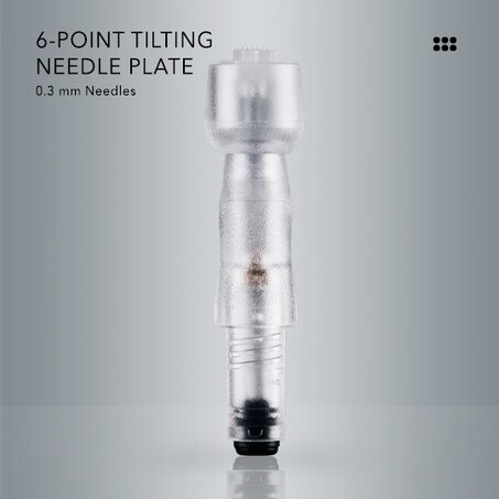 6-Punkt-Kippnadelplatte mit 0,3 mm chirurgischen Stahlnadeln